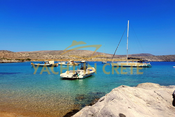 dia island day boat trips form hersonissos
